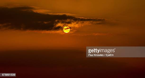 scenic view of sea at sunset - llanelli stock pictures, royalty-free photos & images