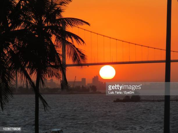 scenic view of sea during sunset - maputo city stock pictures, royalty-free photos & images