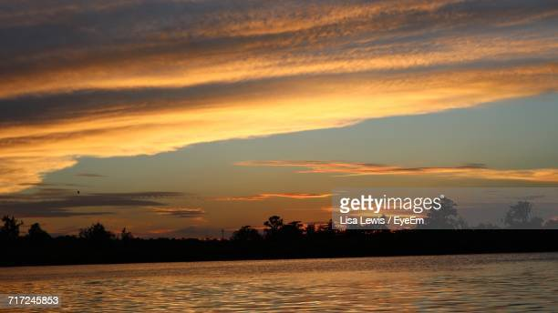 scenic view of sea during sunset - lisa lewis stock pictures, royalty-free photos & images