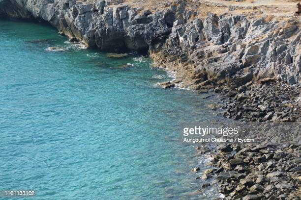 scenic view of sea - aungsumol stock pictures, royalty-free photos & images