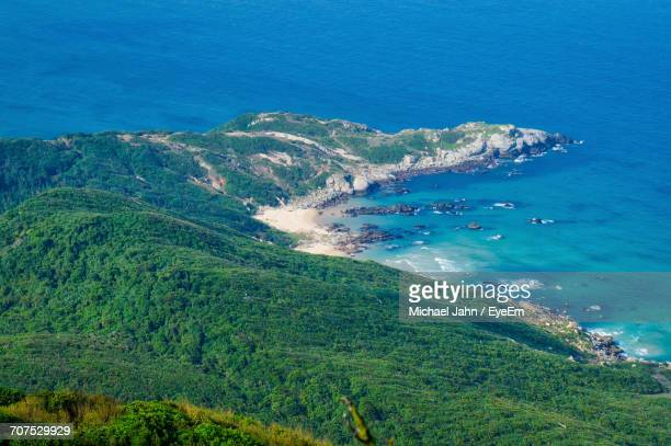 scenic view of sea - hainan island stock pictures, royalty-free photos & images