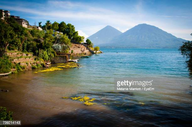 scenic view of sea - guatemala city stock pictures, royalty-free photos & images