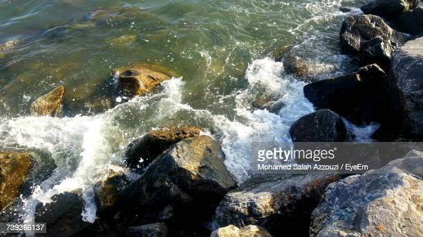 scenic view of sea - salah stock photos and pictures