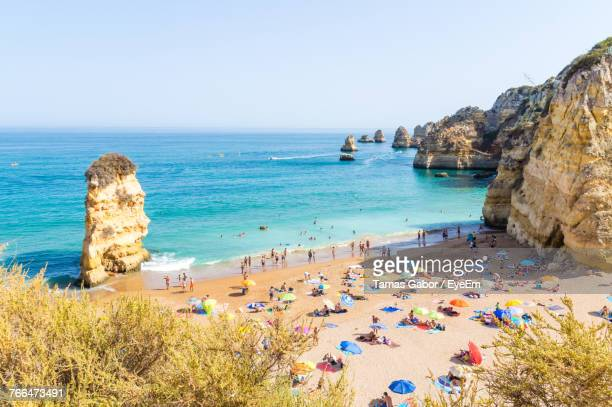 scenic view of sea - lagos nigeria stock photos and pictures