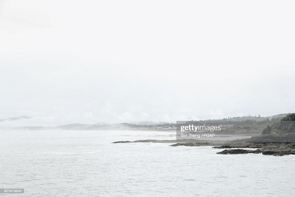 Scenic view of sea : Stock Photo