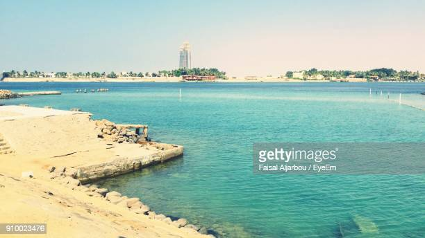 scenic view of sea - jiddah stock pictures, royalty-free photos & images