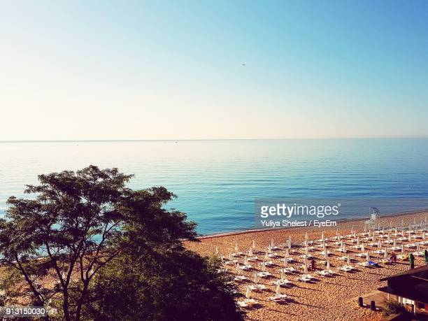 scenic view of sea - bulgaria stock pictures, royalty-free photos & images