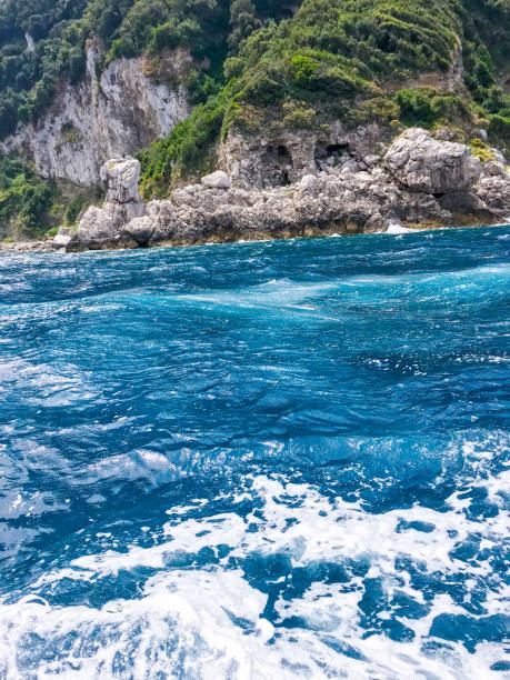 Scenic view of sea,Italy