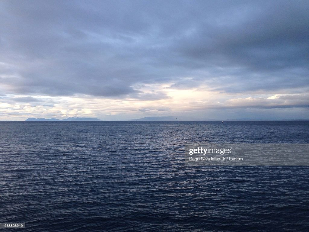 Scenic View Of Seascape : Foto stock