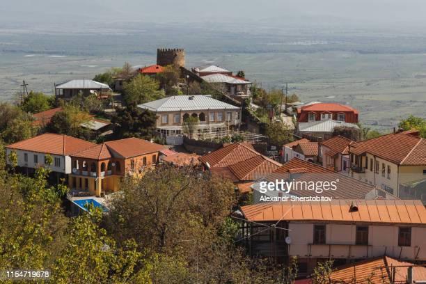 Scenic view of Signagi city, Georgia