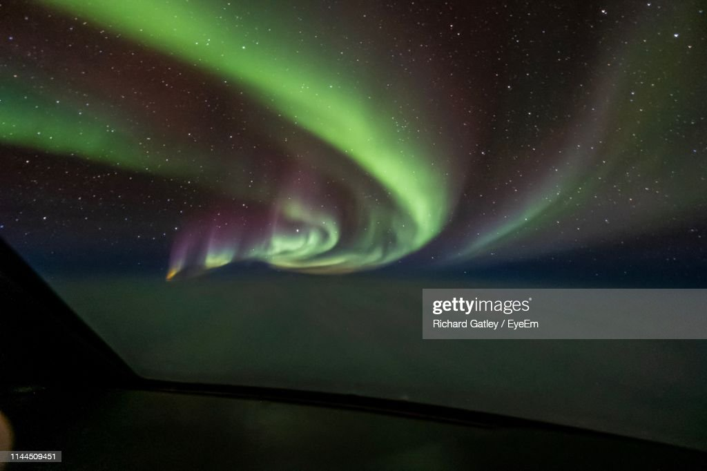 Scenic View Of Sky At Night : Stock Photo