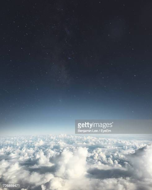 scenic view of sky at night - elysium stock pictures, royalty-free photos & images