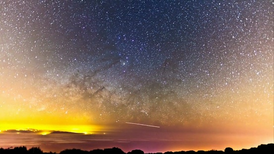 Scenic View Of Sky At Night - gettyimageskorea