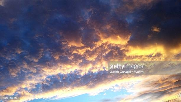 scenic view of sky at sunset - carvajal ストックフォトと画像
