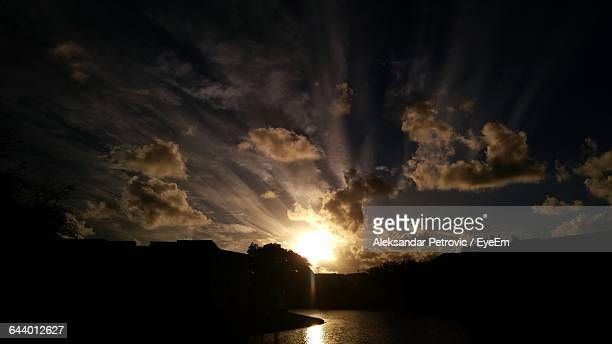 scenic view of sky during sunset - delray beach stock pictures, royalty-free photos & images