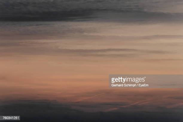 scenic view of sky during sunset - gerhard schimpf stock photos and pictures