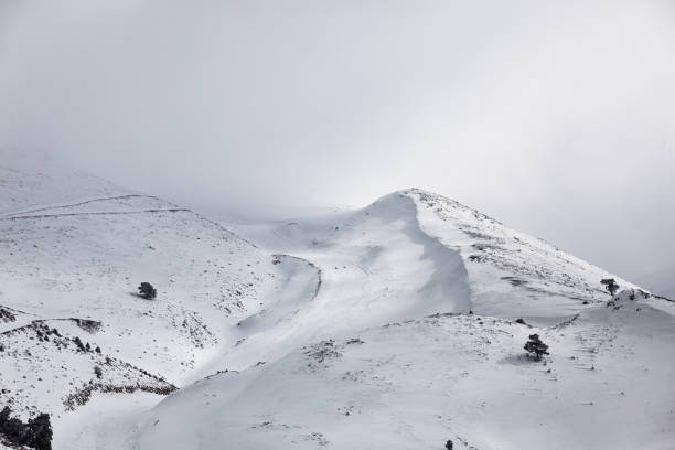 Scenic View Of Snow Covered Mountain Against Sky, Nikfer, Turkey