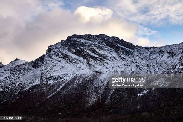 scenic view of snowcapped mountains against sky - rachel wolfe stock pictures, royalty-free photos & images