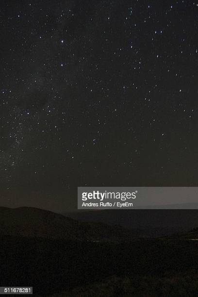 scenic view of star field - andres ruffo stock pictures, royalty-free photos & images
