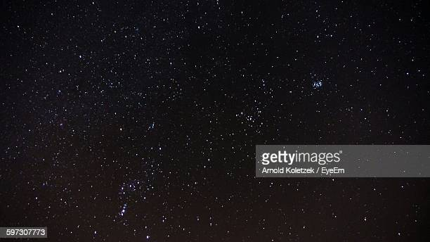scenic view of star field - star field stock photos and pictures