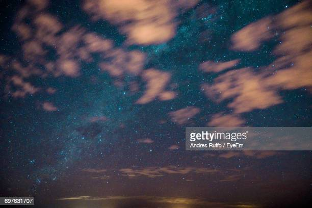 scenic view of starry field at night - andres ruffo bildbanksfoton och bilder