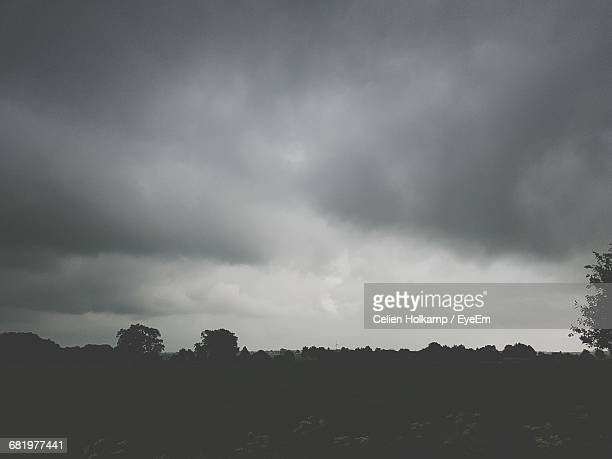 Scenic View Of Storm Clouds