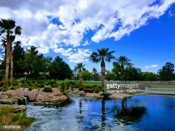 scenic view of swimming pool against sky - casey nolan stock pictures, royalty-free photos & images