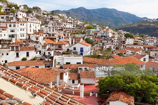 scenic view of taxco, mexico - ogphoto stock pictures, royalty-free photos & images
