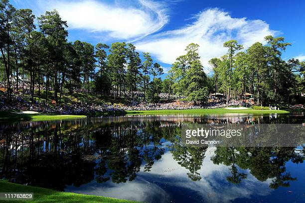 A scenic view of the Par 3 course during the Par 3 Contest prior to the 2011 Masters Tournament at Augusta National Golf Club on April 6 2011 in...