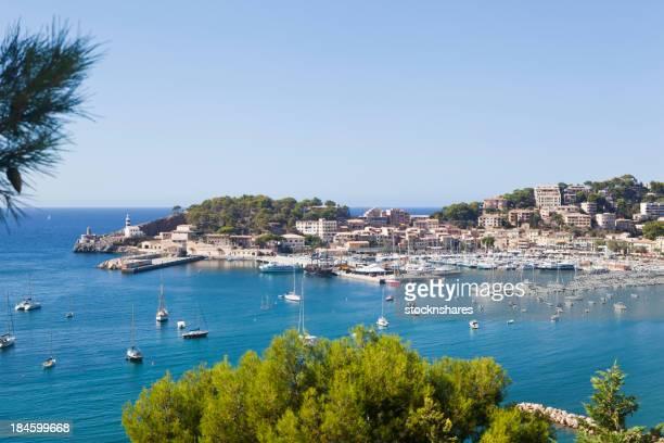 Scenic view of the Port de Soller Majorca