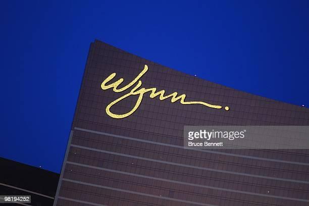 Scenic view of the Wynn Las Vegas on March 24, 2010 in Las Vegas, Nevada.
