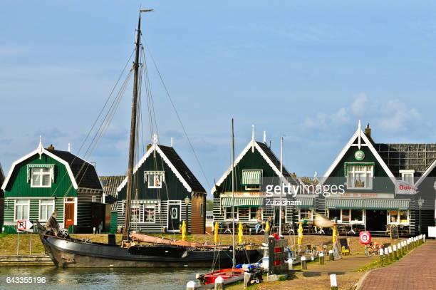Scenic view of Volendam