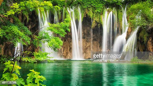 World S Best Plitvice Lakes National Park Stock Pictures