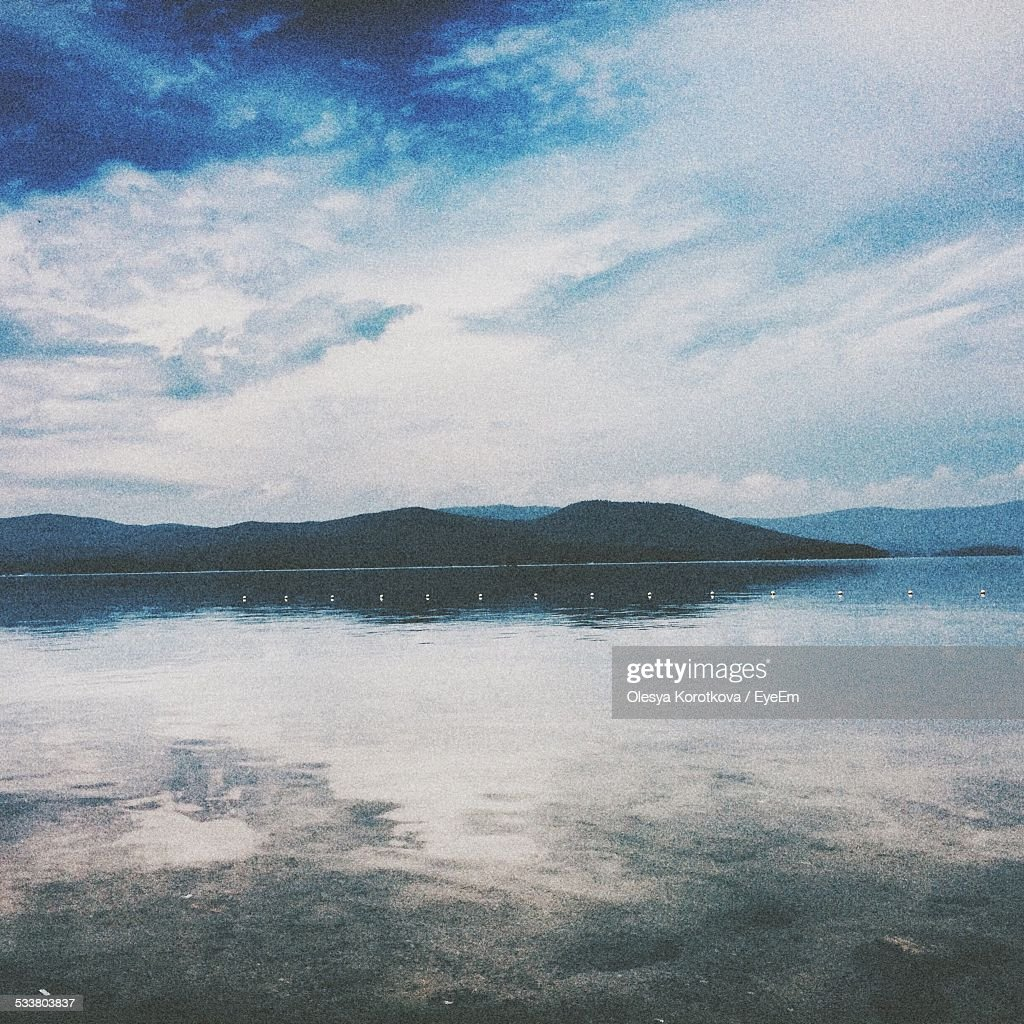 Scenic View Of Waterfront Landscape : Foto stock