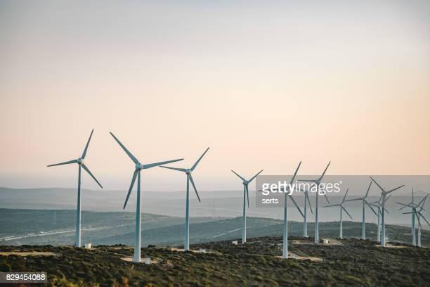 Malerische Aussicht auf Windmühle Bauernhof