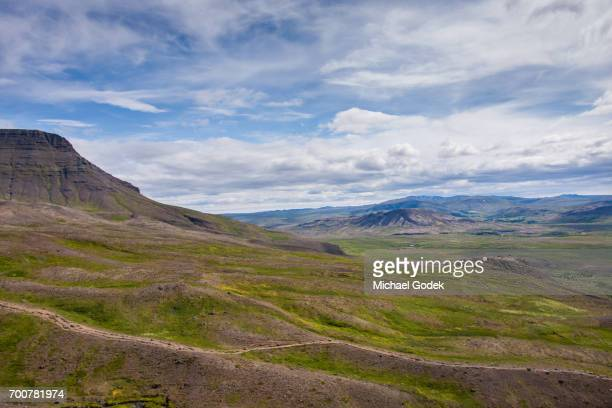 Scenic views of Iceland landscape and mountains