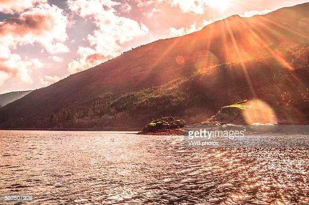 Scenic views of Loch Long