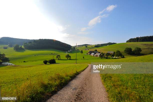 A scenic village in Black Forest