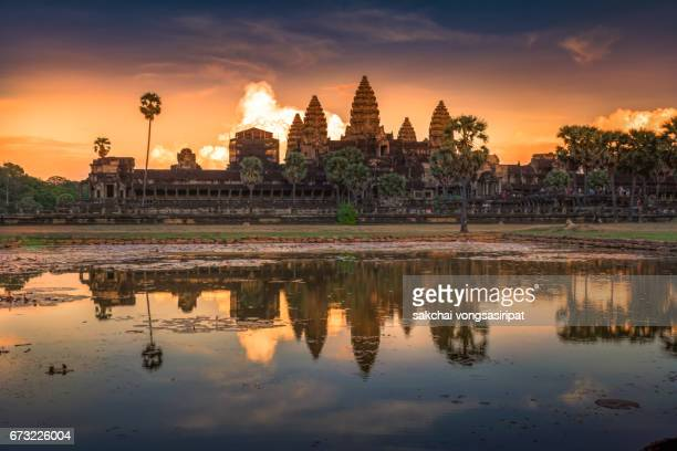 Scenics  View of Angkor Wat