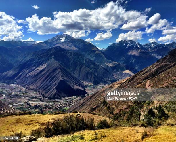 Scenics view of mountain against sky
