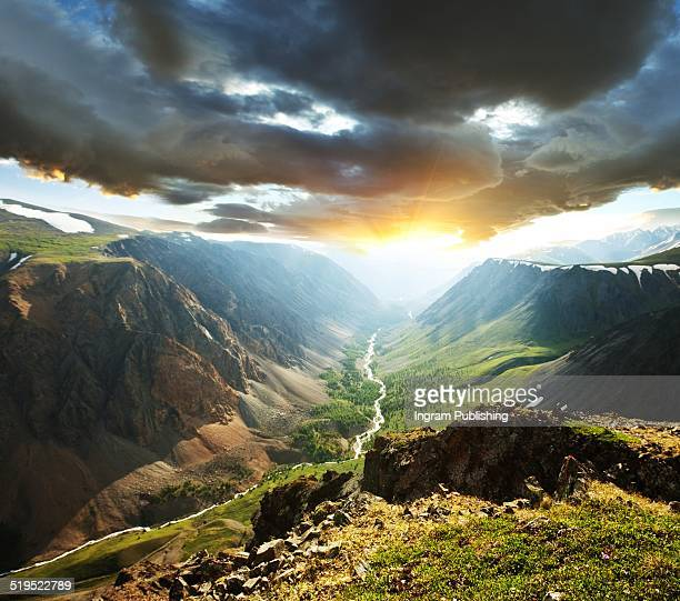 Scenics view of mountains