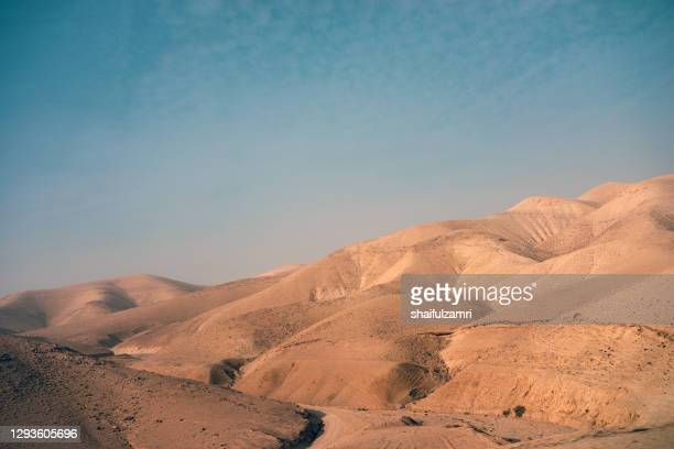 scenir view of desert. - shaifulzamri stock pictures, royalty-free photos & images