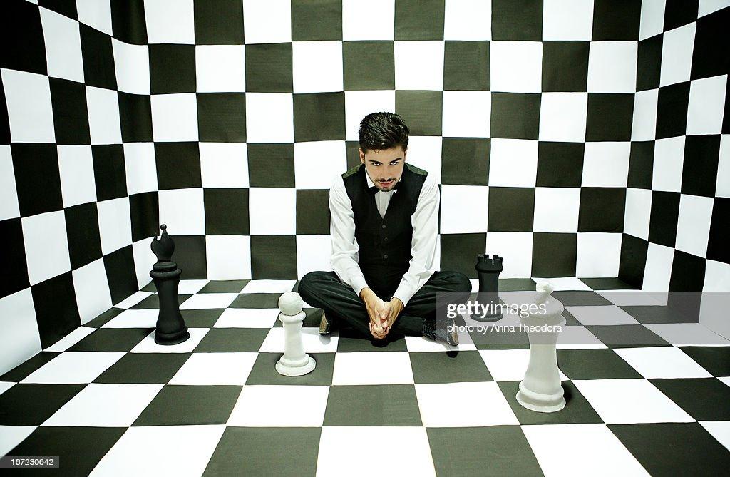 Schachnovelle : Stock Photo