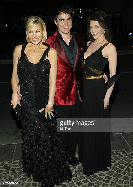Schae Harrison, Mick Cain and Hunter Tylo at the The Bold and the Beautiful Gala to Celebrates 20 Years at Two Rodeo in Beverly Hills, California.