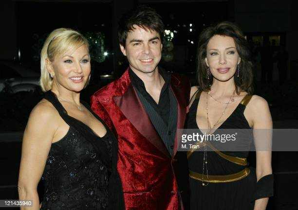 """Schae Harrison, Mick Cain and Hunter Tylo during """"The Bold and the Beautiful"""" Gala to Celebrate 20 Years at Two Rodeo in Beverly Hills, California,..."""