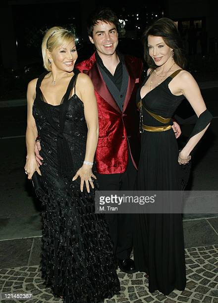 Schae Harrison Mick Cain and Hunter Tylo during The Bold and the Beautiful Gala to Celebrate 20 Years at Two Rodeo in Beverly Hills California United...