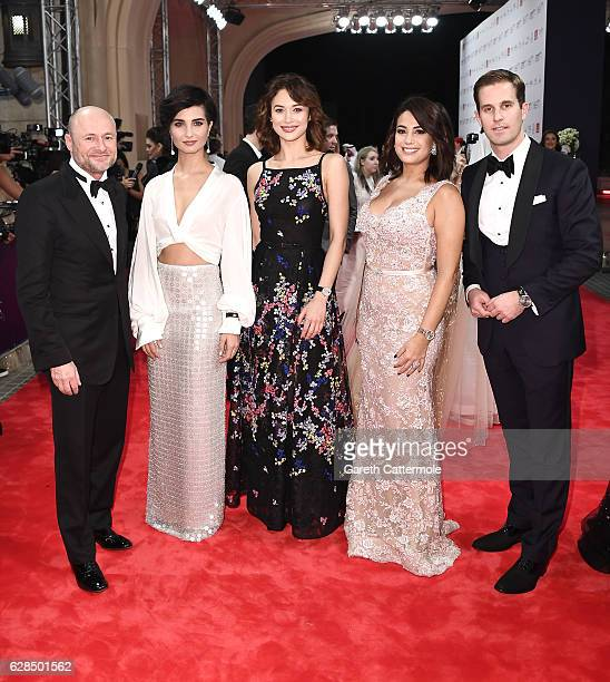 Schaffhausen CEO Georges Kern Tuba Buyukustun Olga Kurylenko and guests attends the Opening Night Gala during day one of the 13th annual Dubai...