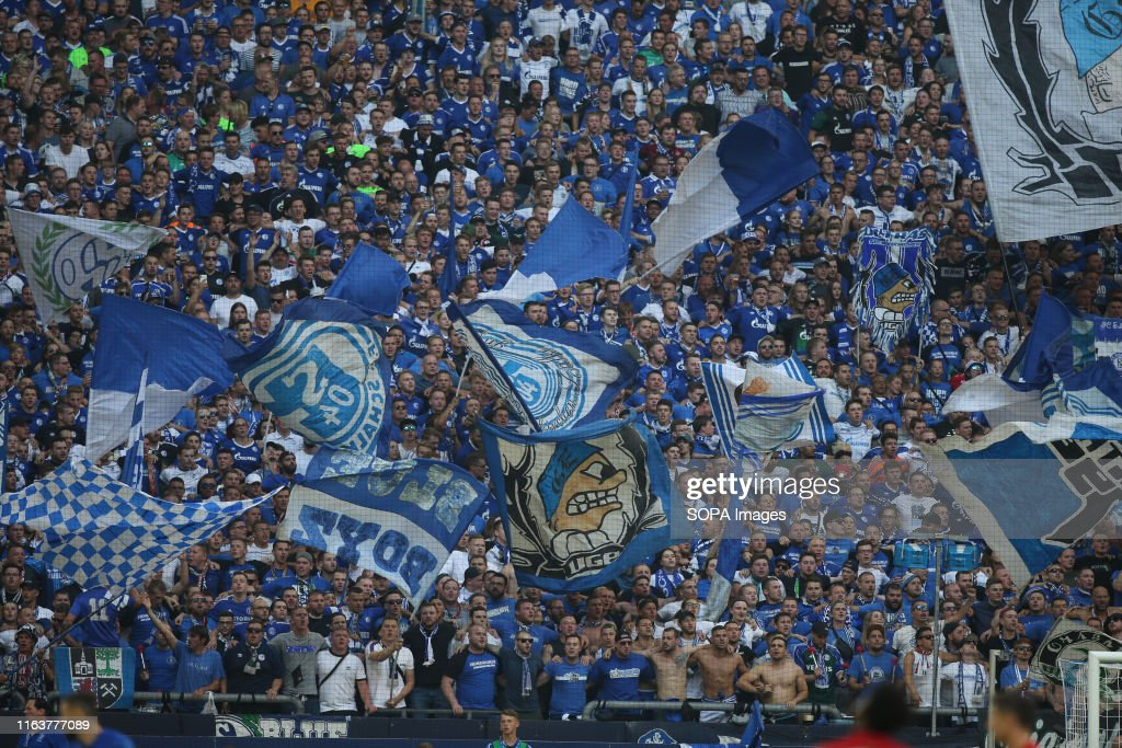 Fc Schalke 04 Fans Are Seen During The Bundesliga Match Between Fc News Photo Getty Images