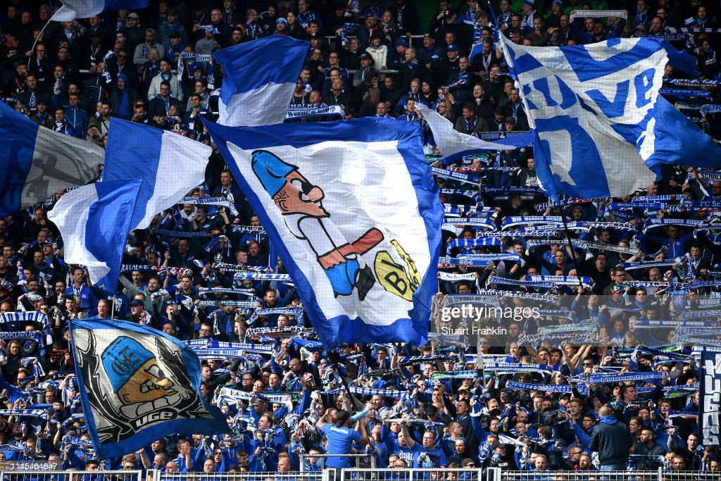 Fc Schalke 04 Fans Show Their Support During The Bundesliga Match News Photo Getty Images