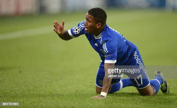 FUSSBALL CHAMPIONS FC Schalke 04 FC Basel Jefferson Farfan